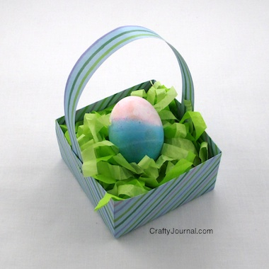 Easter basket grass tissue paper