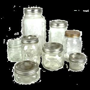Mason jar sizes