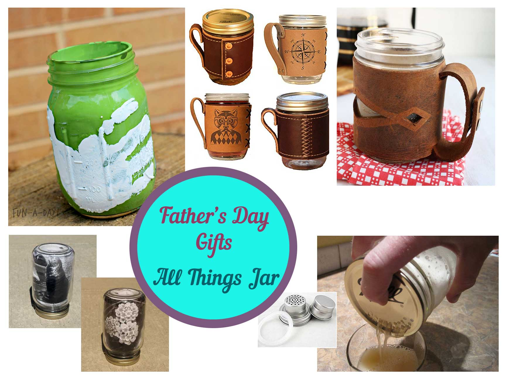 Father's Day Mason Jar Gifts